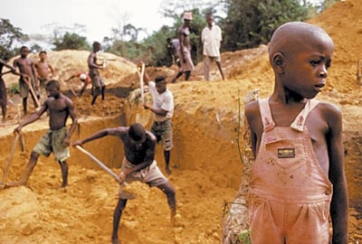 the atrocities of blood diamonds Once the atrocities associated with blood diamonds came to light, in the 1990's, there was an international outcry to find a solution that solution was introduced by the united nations and involves a process to certify the origins of a diamond, insuring it is conflict free.