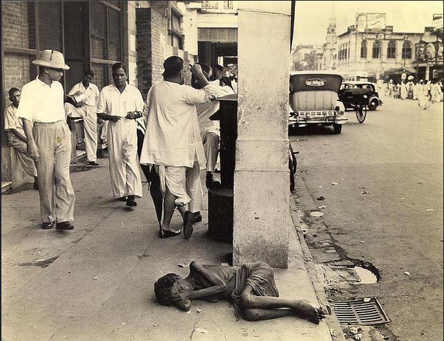 Famine of 1943, Calcutta