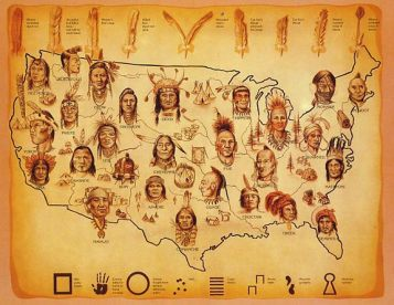Image result for indigenous americans in 1492 head shots