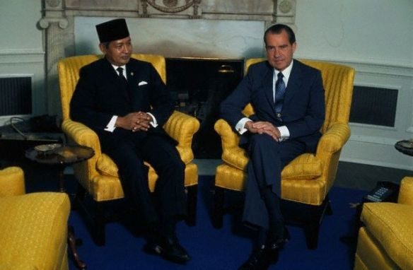 Image result for nixon in indonesia images