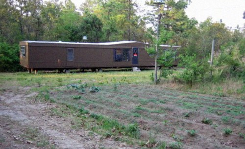 Mobile trailer home which serves as headquarters for the RPP, the pro North Korean political group started by white supremacist Joshua Sutter