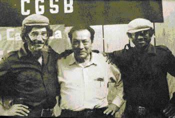 Manuel Pérez, ELN, Manuel Marulanda, FARC-EP y Francisco Caraballo, EPL
