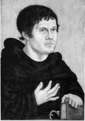 Martin Luther-1523 by Lucas Cranach