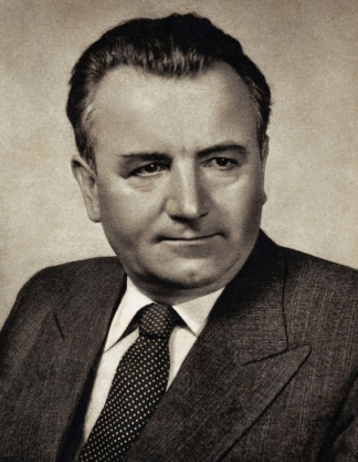 Communist Czech Politician Klement Gottwald