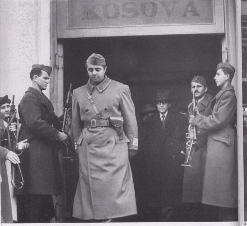 November 1945, preparing to take Tirana; from p.100