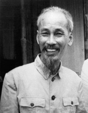 Portrait of Ho Chi-Minh