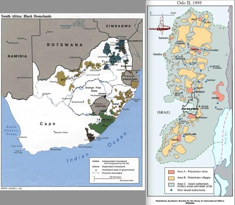 Apartheid South Africa - Apartheid Israel (1)
