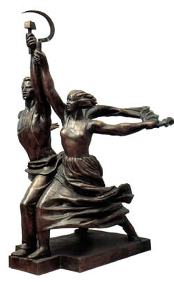 Vera Mukhina: Monument to Collectivisation