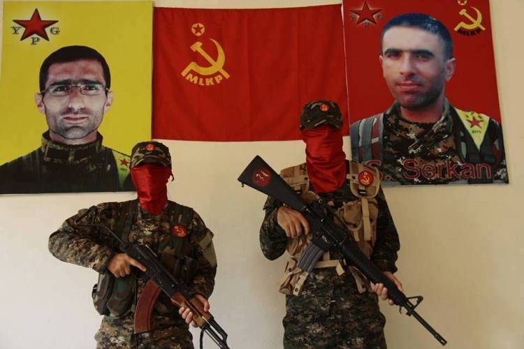 MLKP fighters in the Kobane resistance