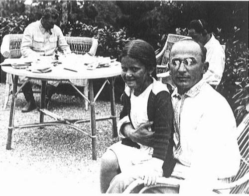 Beria, Stalin and Svetlana on a Black Sea Holiday