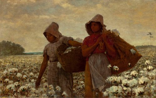 Hard Copy Cover: Winslow Homer: The Cotton Pickers, 1876