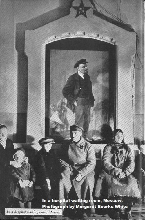 in-a-hospital-waiting-room-moscow-photograph-by-margaret-bourke-white